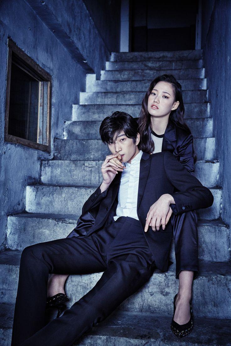 Lee Bom Chan, Yang Da Bin by Shin Seon Hye for W Korea Dec 2015