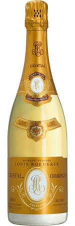 Louis Roederer Cristal Brut~ The club served us this and apologised for being out of Dom...