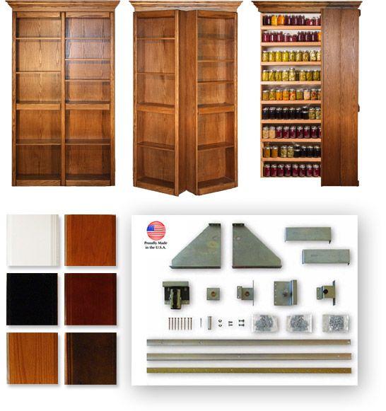 the murphy door the bifolding bookshelf door httpswww - Folding Bookcase