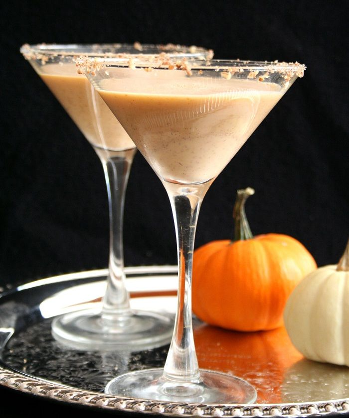 Pumpkin Pie Martinis @dreamaboutfood