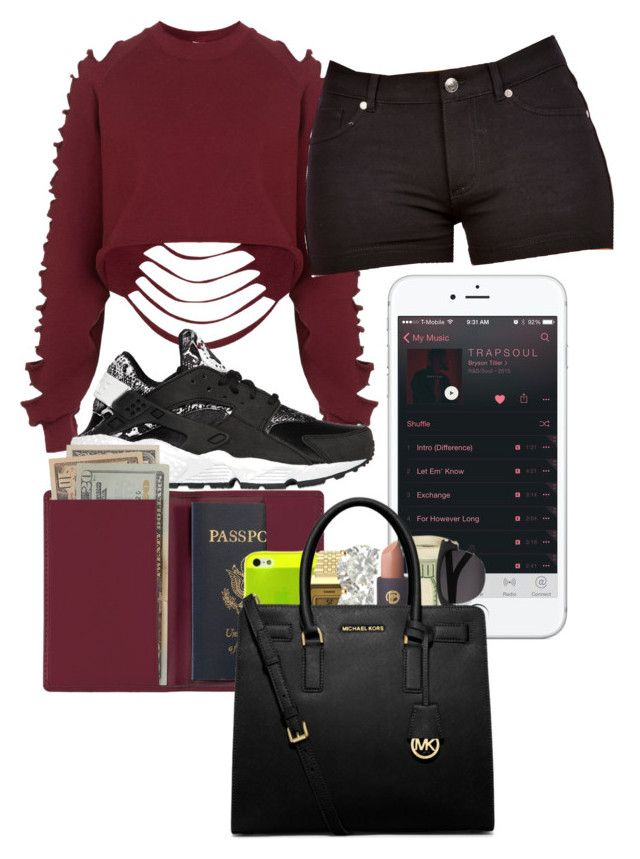 """""""BAD FOR YOU Meek Mills ft Nicki Minaji ❤"""" by kimah101 ❤ liked on Polyvore featuring The Ragged Priest, NIKE and Royce Leather"""