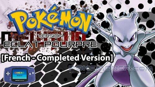 http://www.pokemoner.com/2017/02/pokemon-eclat-pourpre.html Pokemon Eclat Pourpre  Name: Pokemon Eclat Pourpre Remake From: Pokemon Fire Red Remake by: Mickey - Description: It is supported french language. We have not any english version for it. Story: La région est submergée par une vague de crimes. Une organisation du nom de TEAM ROCKET procède à des enlèvements de masse de Pokémon créant une panique sans précédent. Les forces de police mettent tous les moyens en œuvre pour mettre fin à…