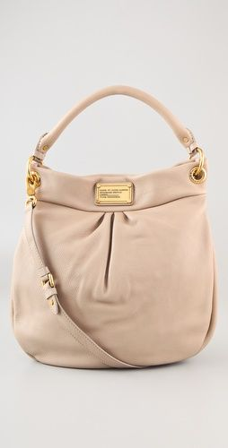nude marc by marc jacobs hobo handbag