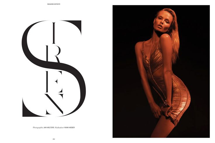 Natasha Poly by Jan Welters for Antidote Magazine : The Icons Issue Photo