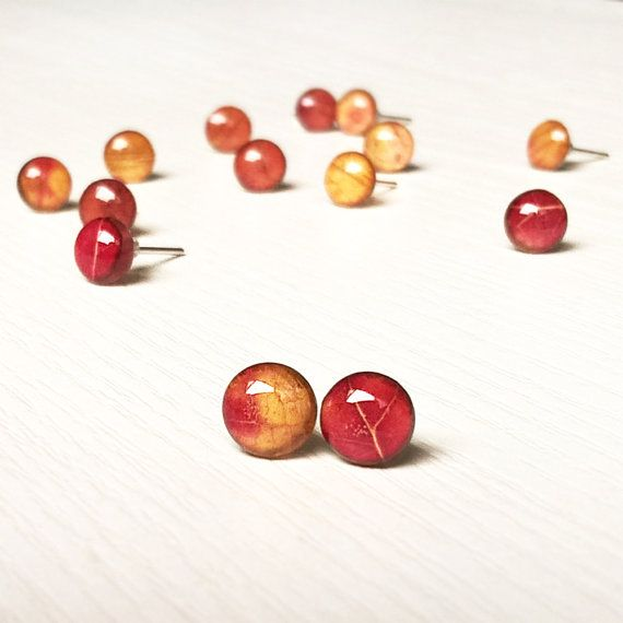 Vallen sieraden herfst sieraden Leaf Jewelry door MetanoiaCharm