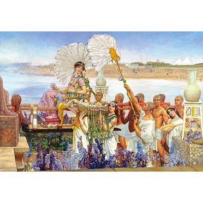 PUZZLE 2000 TEILE The Finding of Moses Sir Lawrence Alma-Tadema GEMÄLDE