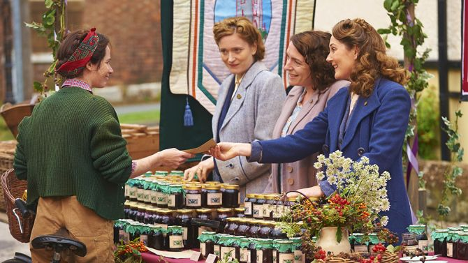 Home Fires Masterpiece PBS TV Review Great program! I hope it has another season!