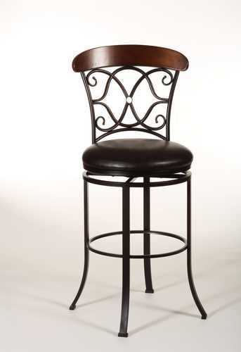 Dundee Swivel Commercial Bar Stool - Hillsdale 5026-830