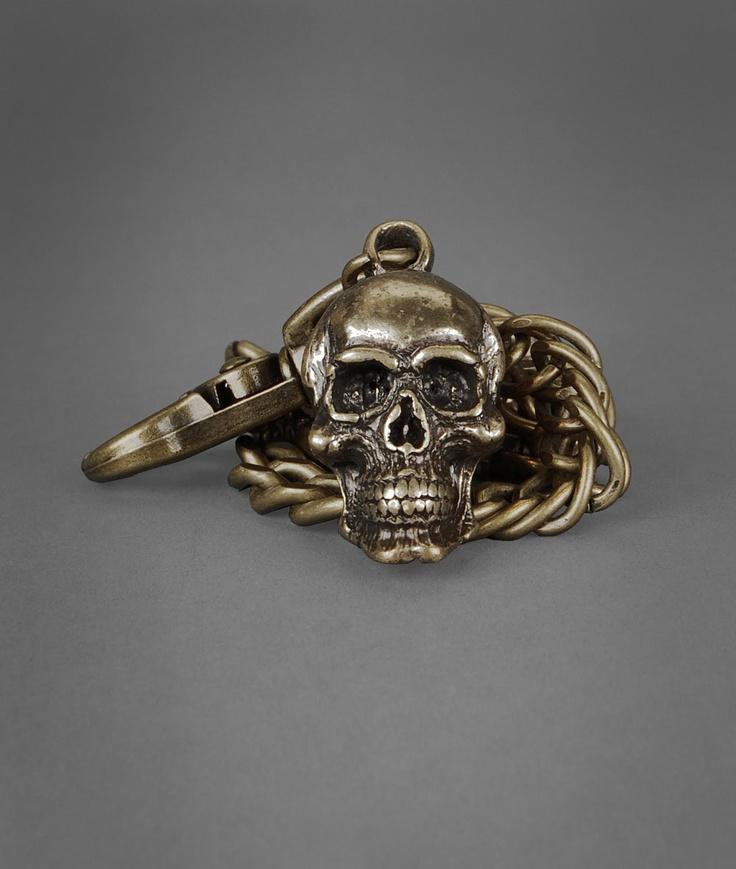 Skull And Cross Bones Wallet Chain | John Varvatos