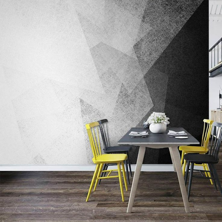 Nordic Style Abstract Wallpaper Mural (㎡