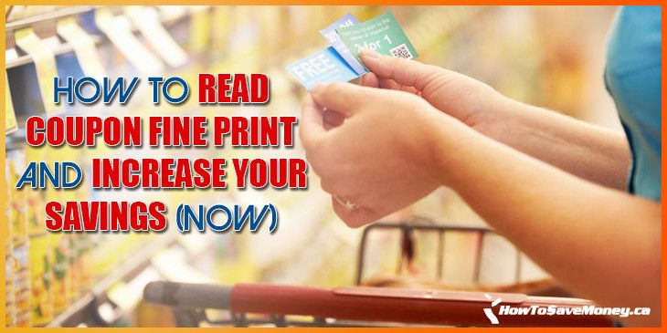 Were you denied using a coupon at the checkout because of the fine print? Understand what it all means so that never happens again!