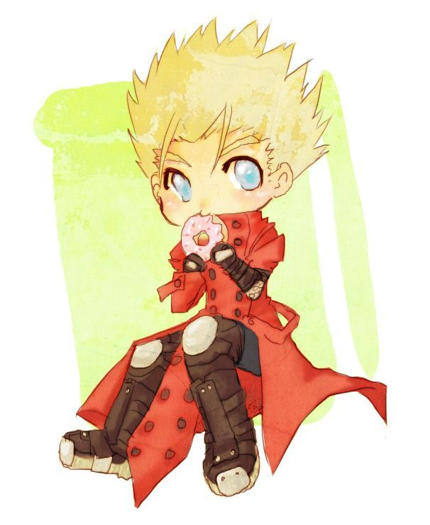 Can You Guys Belive That I Havint Drawn Vash Since This Picture Link Felt Like Drawing Today Rigth After Buying A Trigun Fan Guide For T