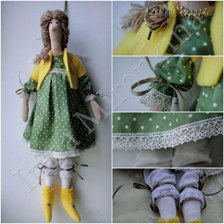 Изделие: Кукла Тильда Материал: трикотаж хлопок, бисер японский, кружево винтажное, флис, хлопок