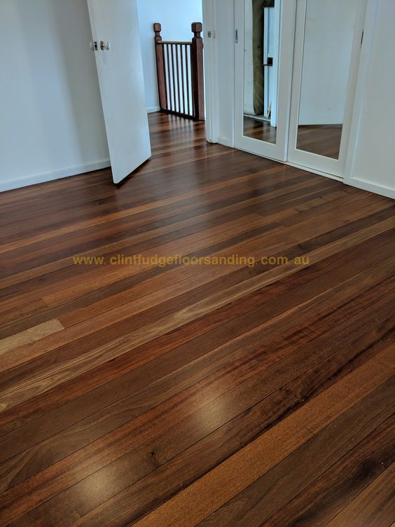Meranti floor finished in a Lo-Sheen matte finish