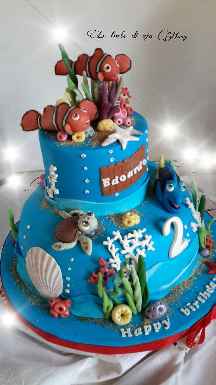 Torta  Nemo mare
