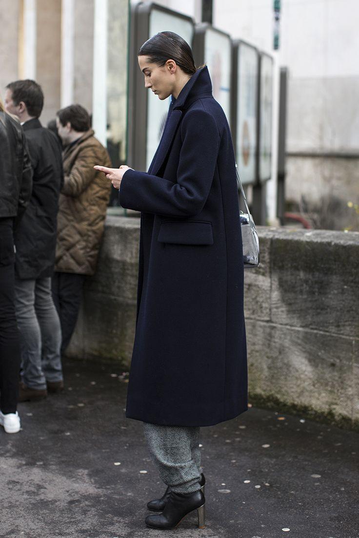 great topper. #MijoMihaljcic #offduty in Paris.