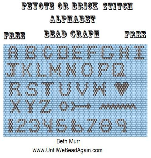 Image detail for -... peyote stitch patterns more brick stitch patterns peyote stitch handle