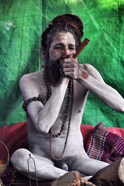 Naga Baba at Kumbh Mela