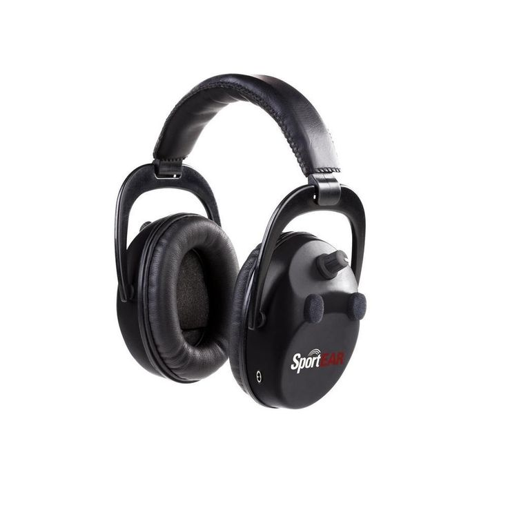 Sport Ear XT4 Electronic Ear Muffs-NRR 25dB-Black