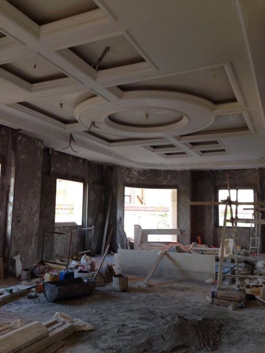 Perfect gypsum board false ceiling design home decor for Images decor gypsum