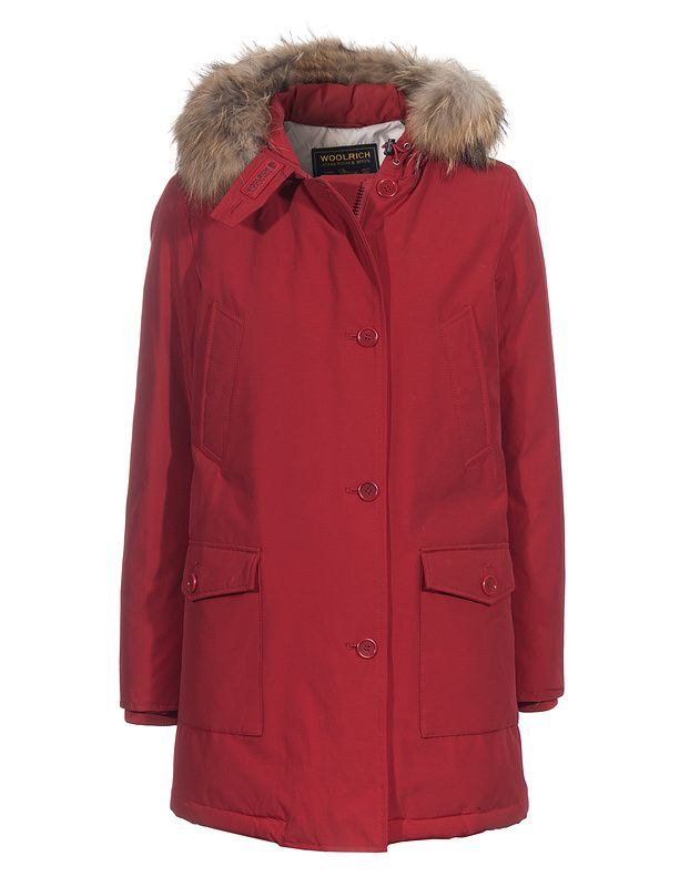 Woolrich Arctic Parka Anorak W Rescue Rouge