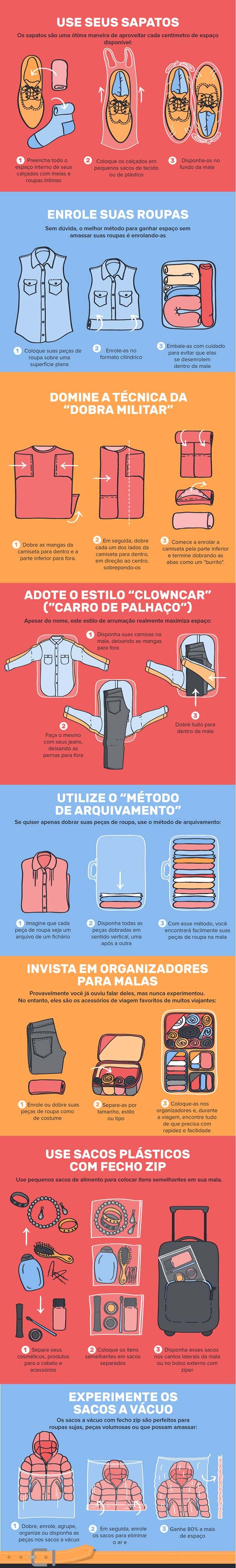 Fantástico! Aprenda a arrumar a mala de viagem quando vai de férias - # #arrumar…