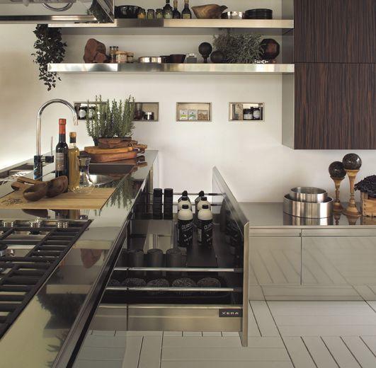 Nowoczesne włoskie kuchnie XERA, projekty kuchni
