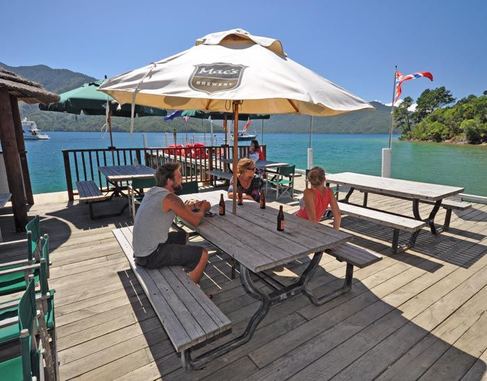 Punga Cove - Accommodation with Stunning Views in the Marlborough Sounds, New Zealand | Gallery