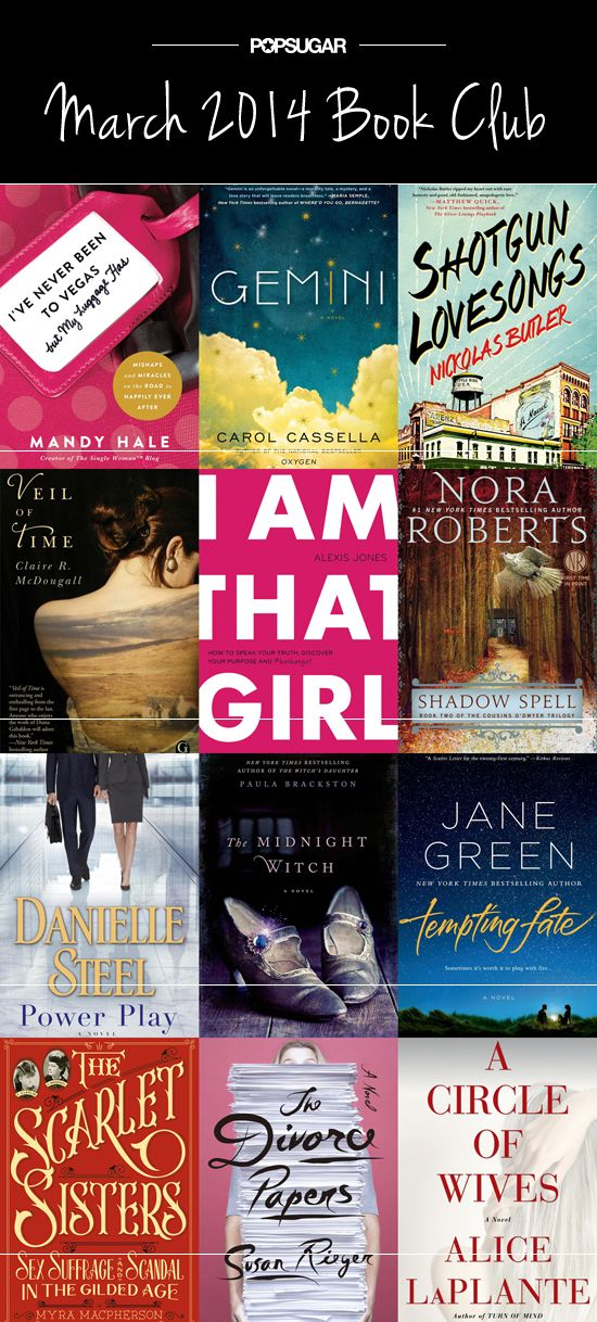 March 2014 Book Club: We Can't Wait to Read March's New Books!