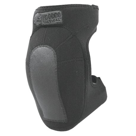 The Voodoo Tactical Neoprene Knee Pads are built for long lasting all day comfort. The soft neoprene body flexes with movement while the padded knee cap offers outstanding protection. Pads are secured with double safe hook-n-loop straps. Fully adjustable. One Size Fits All! Color: Black