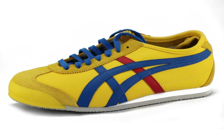 onitsuka tiger mexico 66 yellow blue red