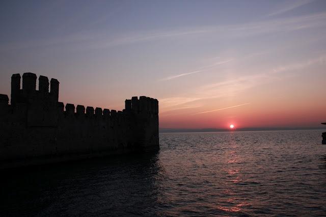 Sunrise in Sirmione