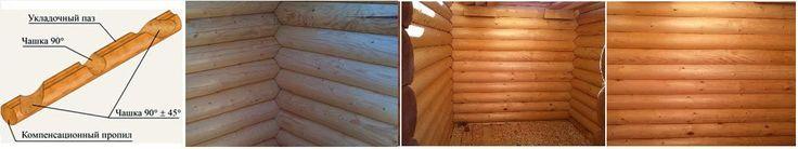 Современные интерьеры деревянных домов