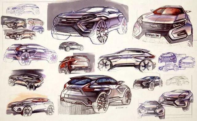 [CardesignPics设计内参]俄罗斯拉达汽车用设计实现复兴