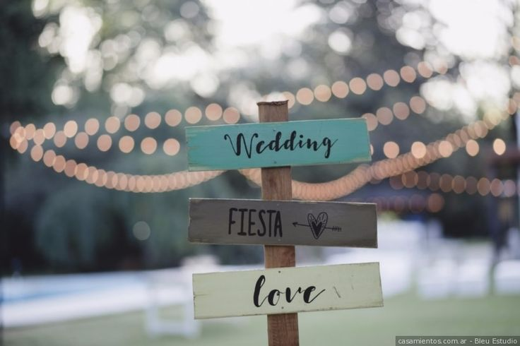 Carteles para casamientos. ¡Sorprendé a tus invitados con una linda bienvenida!