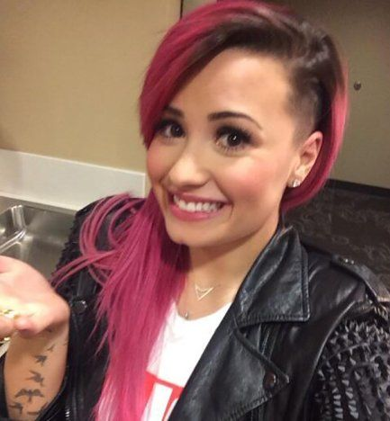 Demi Lovato Shaves Head, Doesn't Give a F-ck