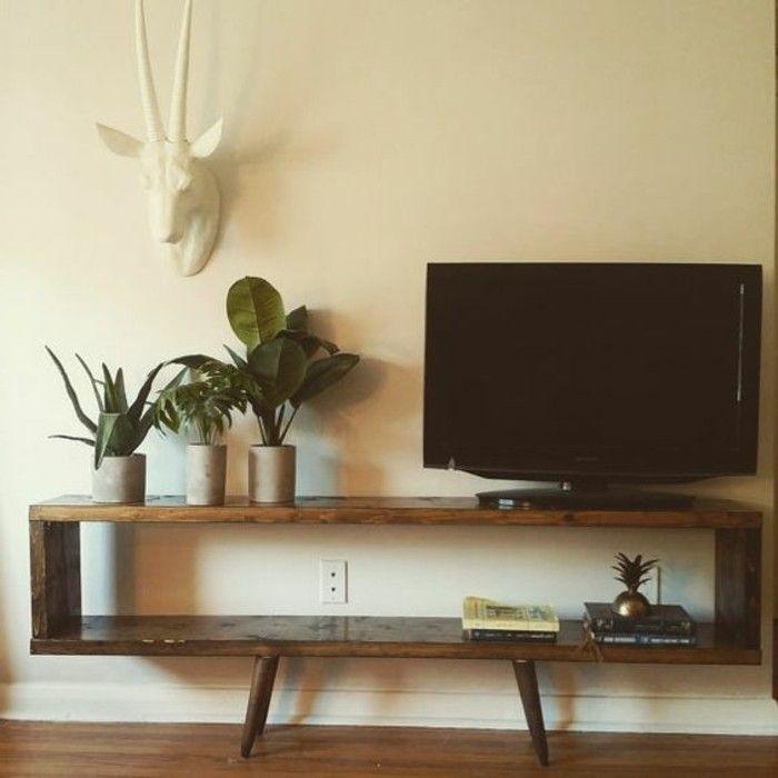 Fabriquer Un Meuble Tv Instructions Et Modeles Diy Fabriquer Meuble Tv Fabrication Meuble Meuble Tv