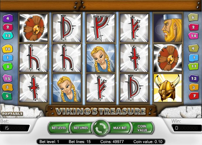 Viking's Treasure - http://www.777free-slots.com/free-vikings-treasure-slot/