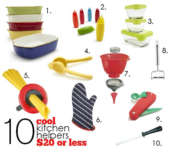 10 Kitchen Helpers $20 or Less
