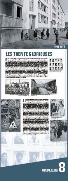 N°8 : Les Trente Glorieuses. Si, dès les années 30, une première immigration ouvrière apparaît en Limousin, elle est beaucoup plus importante après la Seconde Guerre mondiale, la reconstruction suscitant un afflux de main-d'œuvre non négligeable. © Groupe de recherche Achac
