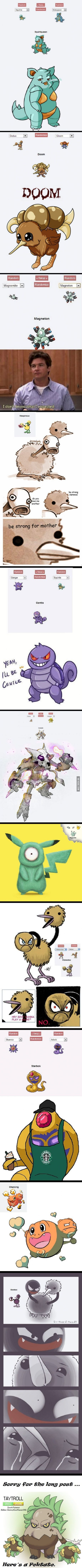 11 creepiest Pokémon Fusions ever