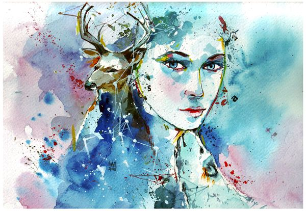 Water color illustrations by Vimal Chandran