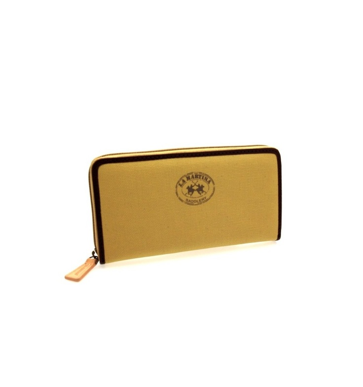 GENUINE LA MARTINA Wallet Nobleza Woman camel - 060192030, $134