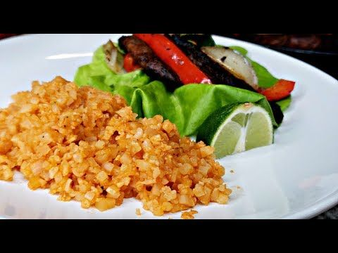 Mexican Cauliflower Rice Recipe Low Carb Mexican Rice Recipe Hd Cooking Video Youtube Mexican Rice Recipes Rice Recipes Cauliflower Rice Recipes