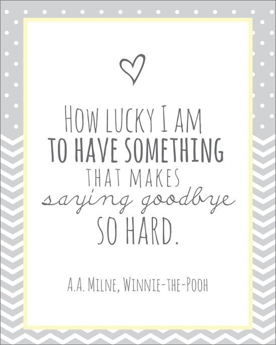 Adorable. 10 Quotes about long distance love. #freeprintables