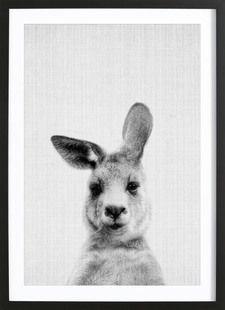 Print 99 - Lila x Lola - Affiche sous cadre en bois