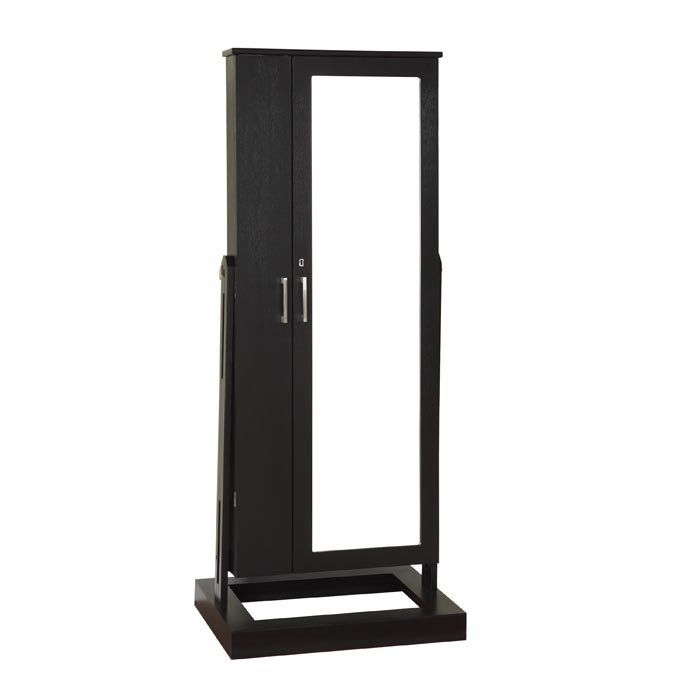Jewelry Storage And Full Length Mirror