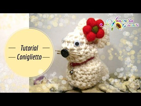 Tutorial coniglietto di Pasqua all'uncinetto | How to crochet a rabbit - YouTube