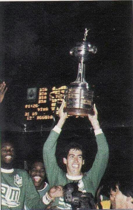 El caballero del futbol, Andres Escobar. QEPD. Atletico Nacional campeon de la Copa Libertadores de America. Mayo 31 de 1989.