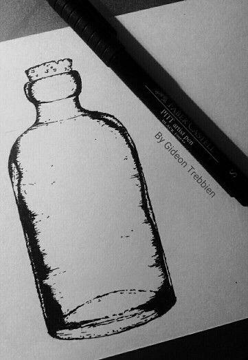 Old Bottle Design by Gideon Trebbien